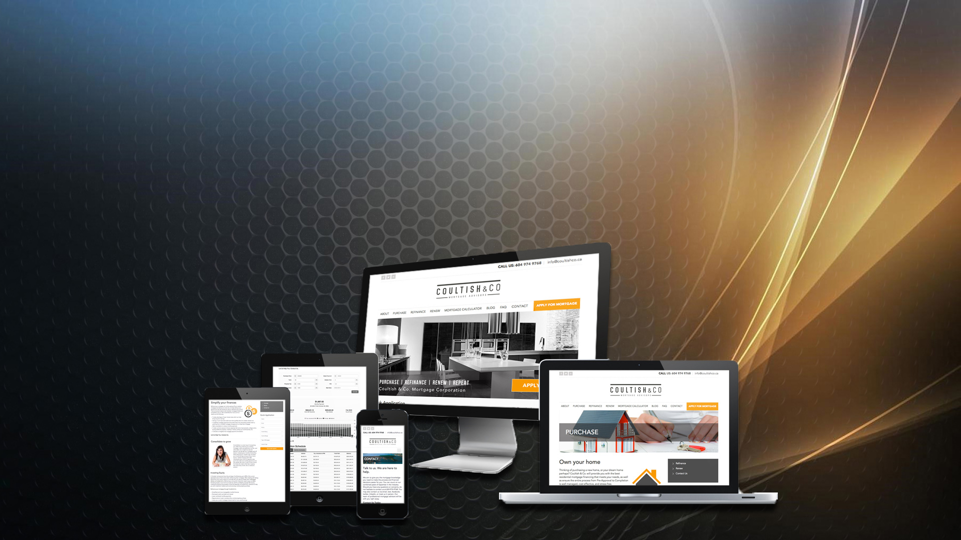 Responsive website designs with creativity in mind