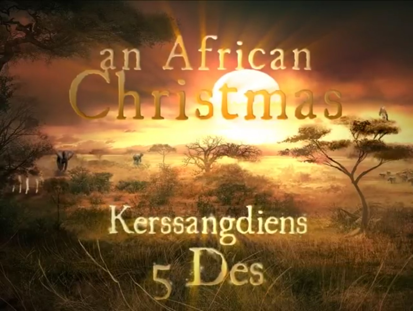SA Congregation - African Christmas trailer